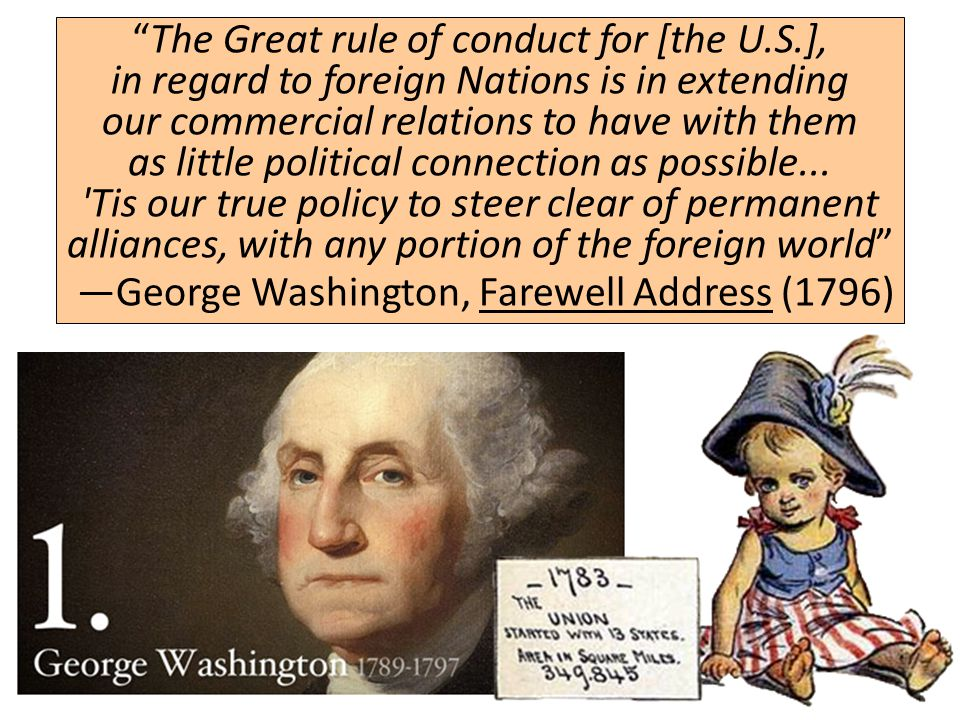 The Great rule of conduct for [the U. S